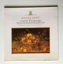 MAURICE ANDRE VINYLE HAYDN MOZART CONCERTOS TROMPETTE / 33 T LP