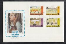 S 030 ) Tristan da Cunha  FDC 1979 UNICEF : Year of the Child / Jahr des Kindes