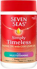 SEVEN Seas One-A-Day puro olio di fegato di merluzzo Plus Integratori (90)