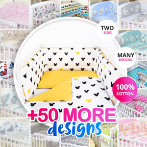 MINNIE/MICKEY STYLE BABY BOY-GIRL NURSERY BEDDING SET-BUMPER-PILLOW-QUILT COVERS