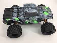 Kyosho Monster Tracker Factory-Assembled RC Monster Truck - 34403T1 Green