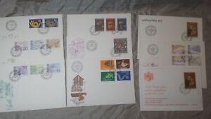 FDC Liechtenstein Ersttagsbriefe Jahrgang 1973 komplett