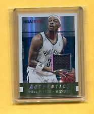 2014-15 PANINI HOOPS JESEY CARD PAUL PIERCE WASHINGTON WIZARDS #11