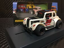 Pioneer Slot Car P081 Racing Legends 34 Ford Coupe White inc Carrera Adapter