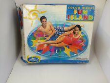 Intex Wet Set Inflatable Color Wheel Fun Island 72