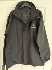 """Mercedes Benz Henbury Rain Jacket Black Size L 46/48"""" Chest *NEW"""