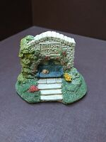 "Lilliput Lane ""Cosy Corner"" Cottage Figurine Vintage 1990 With Original Box"