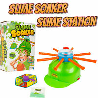 Slime Making Kit with Soaker Hat Helmet Slime Family Game Children Kids Fun Xmas