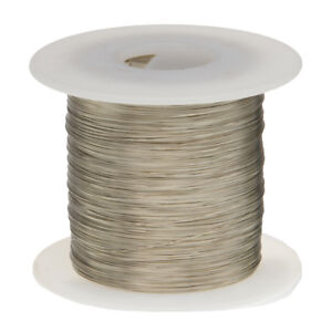 22 AWG Gauge Nickel Chromium Resistance Wire Nichrome 80 1000' Length 0.0253""