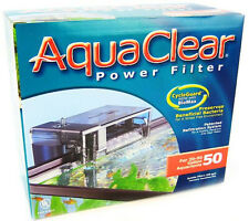 AquaClear 50 Aquarium Power Filter (200 GPH - 20-50 Gallons)