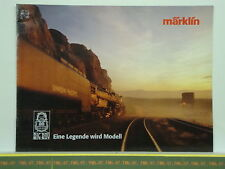 Catalogue MARKLIN 2001 D BIG BOY 4-8-8-4 Legende Modell Photo Histoire Plan 16 p