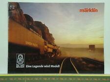 Catalogue MARKLIN 2001 D BIG BOY 4-8-8-4 Legende Modell Photo Histoire Plan 16 p