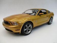 Ford Mustang GT  2010  in gold  Limitiert  Greenlight  1:18  OVP  NEU