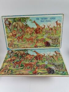The Victory Jungle Tray Puzzle complete