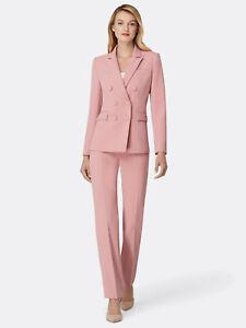 NWT Tahari ASL Peak-Lapel Pant Suit, Size 4