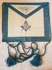 "Antique ""Master Mason"" Masonic Ceremonial Uniform Apron - Masonic Supply Co. NYC"