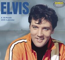New Sealed Collectible 2015 Elvis Wall Calendar (2015) Day Dream