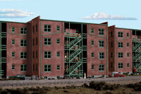 Walthers HO Parkview Terrace Background building kit 933-3177