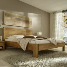 d4f5b8b5bd Massivholz Bett 180x200 höhe 39cm Eiche massiv geölt Doppelbett Bettgestell  holz