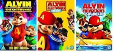 Alvin and the Chipmunks Film Trilogy - All 3 Movies Triple Pack DVD Box Set New