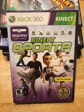 Kinect Sports (Xbox 360, 2010) **BRAND NEW** FACTORY SEALED