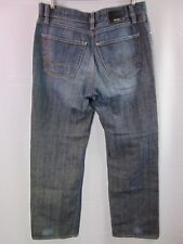 Hugo Boss Distressed Denim Jeans Men's Texas Size 34x32 Straight Leg