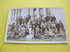 School Class Photograph Australia Postcard with names on reverse