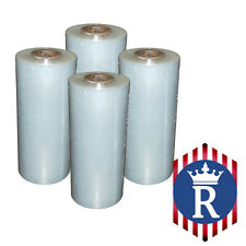 4 Rolls Hand Stretch Film Pallet Wrap 18