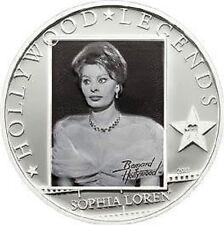 2011 Cook Is Large  Silver 5$ Hollywood  Legends-Sophia Loren