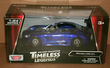 1/24 Scale 2016 Mercedes-AMG GT3 Diecast Model Car C190 - MotorMax 77386 Blue