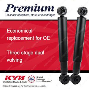 2x Rear KYB Premium Shock Absorbers for Daihatsu Handivan L500S 1994-1998