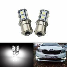 2 Ampoules LED 1156 BA15S P21W Blanc Xenon 13 SMD Lampe Feux de Jour Recul Stop