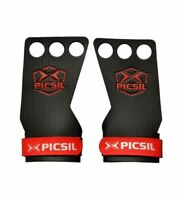 Kettlebell Weight Lifting Gymnastics Grips Training Hand Grips PICSIL X Azor Grips 2 Holes Exercise Muscleups Pull ups Grips Chin Ups