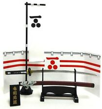 Meister Japan 1/6 scale Samurai Sword Motonari Mori metal NEW mononofu katana