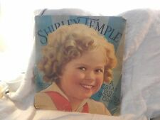 "Vintage Shirley Temple ""Great Big Book to Color"" Coloring Book 1936"