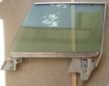 1965 - 1968 Ford Mercury HT L front door window glass channel 65 66 67 68 tinted