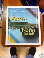 1931 ARMY VS. NOTRE DAME PROGRAM & TICKET - VERY VERY RARE
