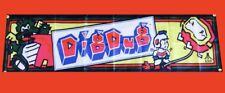 Large Dig Dug Arcade Video Game Banner Flag Poster