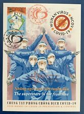 Vietnam 2020 Anti NcoV Health Fdc Vn #1121 Mint Maxicard Pandemic Nurses Doctors