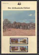 Uganda : WWF-Kapitel Afrik. Elefant
