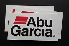 3 new Abu Garcia fishing sticker decals. Powerboat, Truck, tackle box