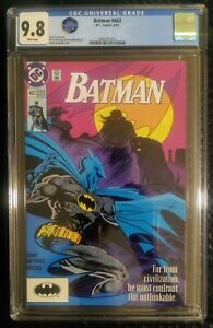 Batman 463 CGC 9.8 White Pages From the Pennyworth Collection