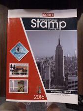 Scott Stamp Catalog 2016 Vol 6
