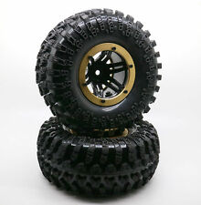 "4PCS 2.2"" Inflatable Tires W/ Alloy Beadlock Wheels 1/10 RC Crawler CAR 3022GD"