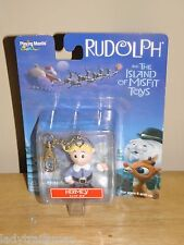 PLAYING MANTIS RUDOLPH & THE ISLAND OF MISFIT TOYS CLIP ON FIGURE- HERMEY