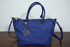 Neu Guess Henkeltasche Tasche Carry All Shopper Korry crush Blau 10-16 UVP 140€