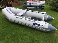 Rydal 3m Inflatable Dinghy/Boat/Rib/Sib Grey