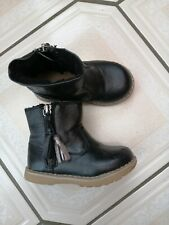 Next Toddler Girls Black Boots Size 6