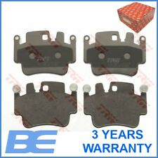 4x TRW Front Brake Pads for PORSCHE BOXSTER CAYMAN GDB1742 Mister Auto
