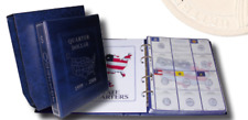 Album Stamp Mounts for Coins from a Quarter of Dollar Commemorative Years USA